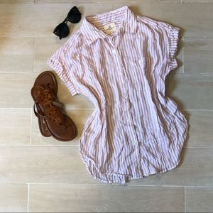 American Eagle Button Down Tee